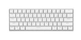 E Dra EK361W 60 Keyboard – White 2