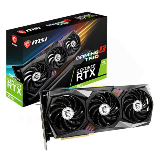MSI Geforce RTX 3070 GAMING X TRIO 10G Graphics Card 1