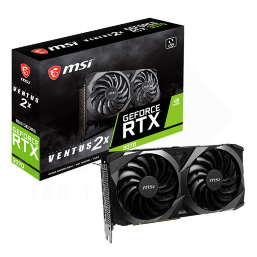 MSI Geforce RTX 3070 VENTUS 2X Graphics Card 1