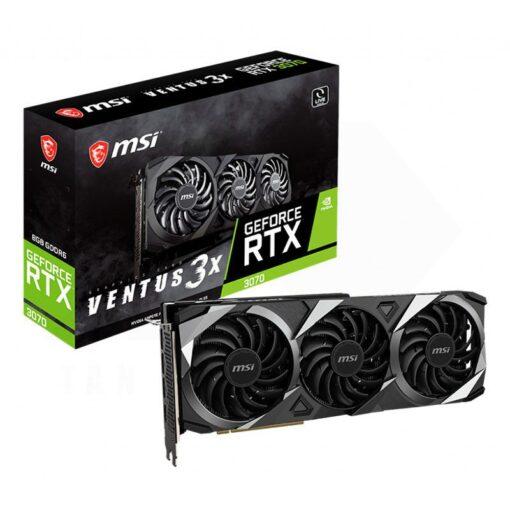 MSI Geforce RTX 3070 VENTUS 3X Graphics Card
