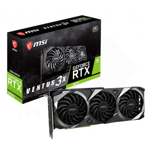 MSI Geforce RTX 3070 VENTUS 3X OC Graphics Card 1