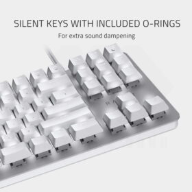 Razer BlackWidow Lite Mercury Gaming Keyboard 3