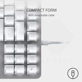 Razer BlackWidow Lite Mercury Gaming Keyboard 4
