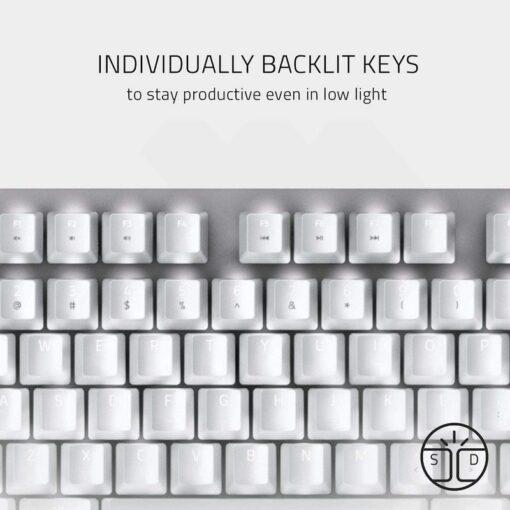 Razer BlackWidow Lite Mercury Gaming Keyboard 5