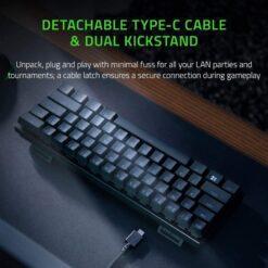 Razer Huntsman Mini RGB Gaming Keyboard – Black 4