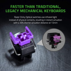 Razer Huntsman Mini RGB Gaming Keyboard – Black 6
