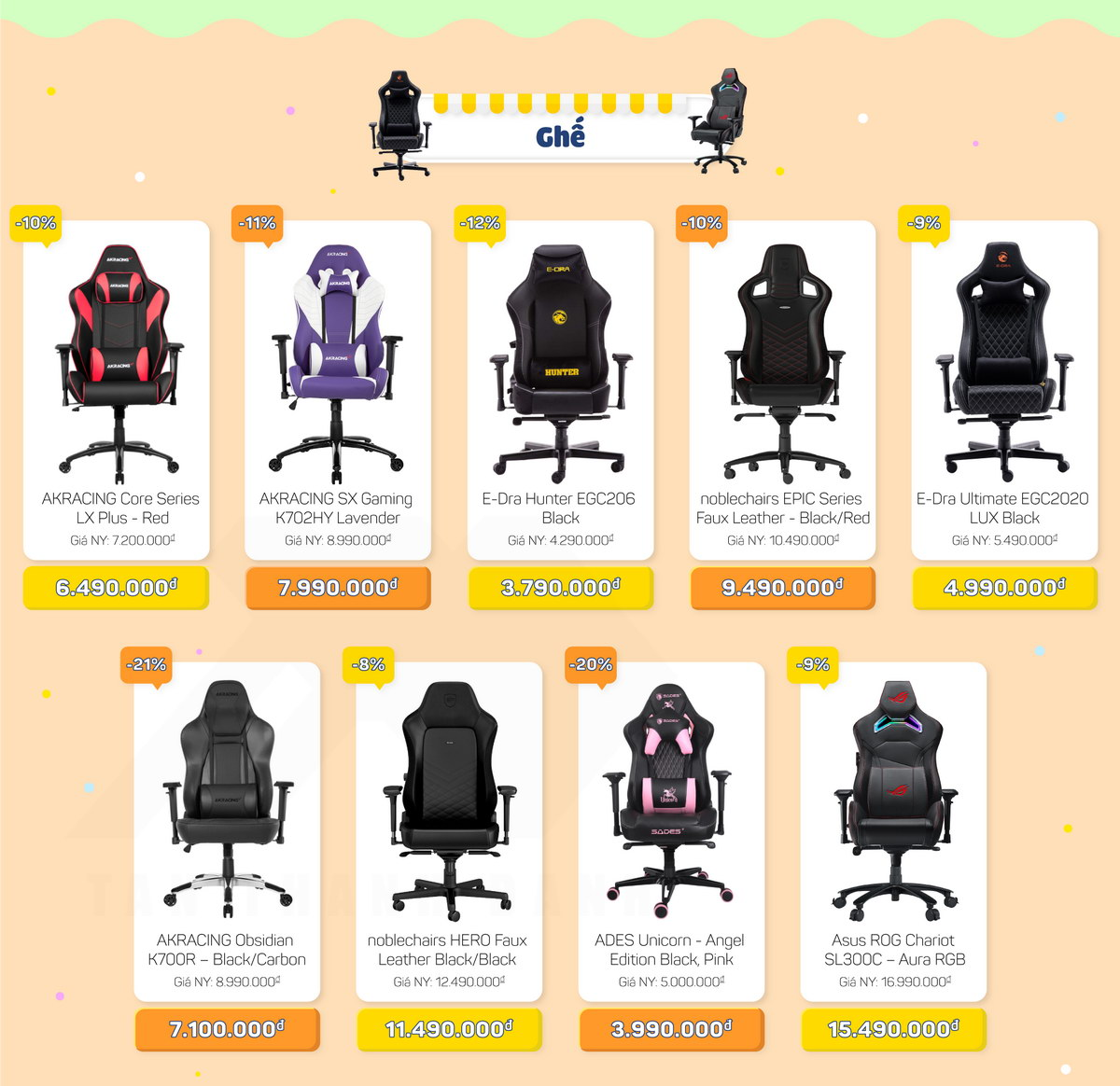 TTD Promotion 2010 DaiTiecGamingGears Ghe v2