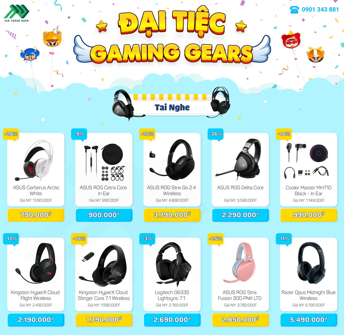 TTD Promotion 2010 DaiTiecGamingGears TaiNghe v2