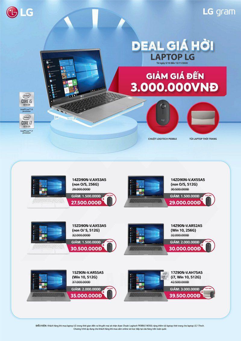 TTD Promotion 2010 DealGiaHoi LaptopLG Poster