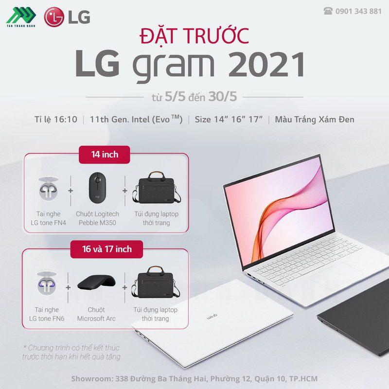 TTD Promotion 202105 DatTruocLGGram2021 Details