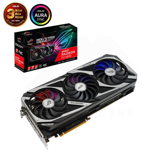 ASUS ROG Strix Radeon RX 6800 OC Edition 16G Graphics Card 1