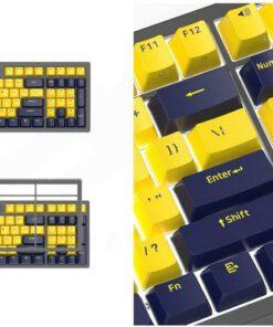 Ajazz FirstBlood B16 Amber Keyboard 4