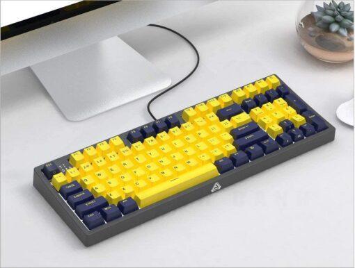 Ajazz FirstBlood B16 Amber Keyboard 5