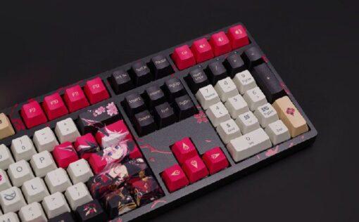 Akko 3108 Honkai Impact 3rd Yae Sakura Keyboard 5