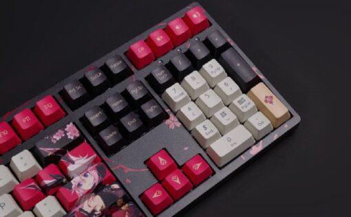 Akko 3108 Honkai Impact 3rd Yae Sakura Keyboard 7