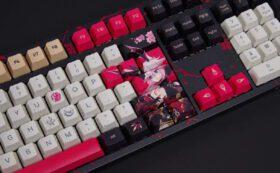 Akko 3108 Honkai Impact 3rd Yae Sakura Keyboard 8