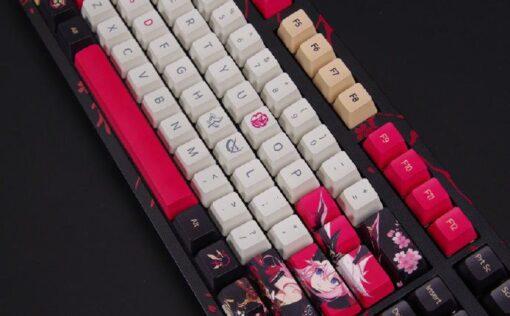 Akko 3108 Honkai Impact 3rd Yae Sakura Keyboard 9