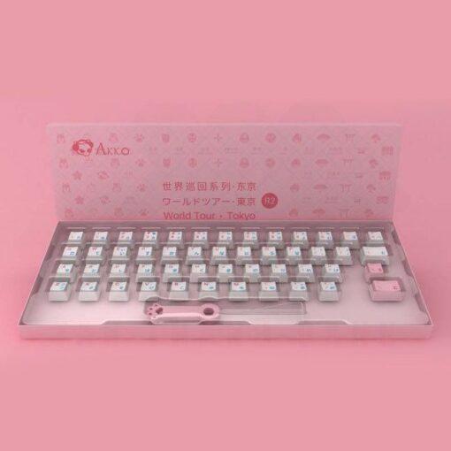 Akko World Tour Tokyo R2 Language Keycap Set – 49 Keys