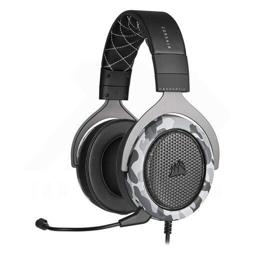 CORSAIR HS60 HAPTIC Gaming Headset – Camo 1