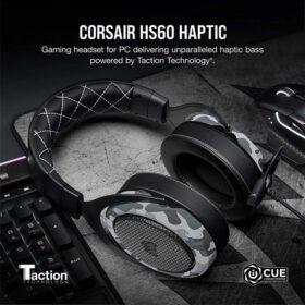 CORSAIR HS60 HAPTIC Gaming Headset – Camo 2