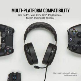 CORSAIR HS60 PRO SURROUND Gaming Headset Carbon 6