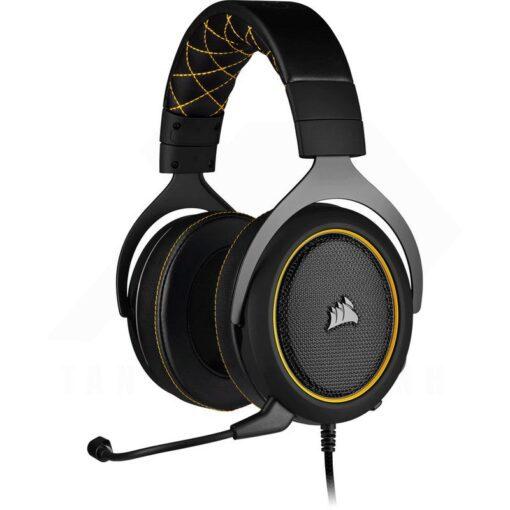 CORSAIR HS60 PRO SURROUND Gaming Headset Yellow
