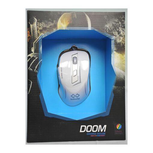 Infinity Doom Mouse White