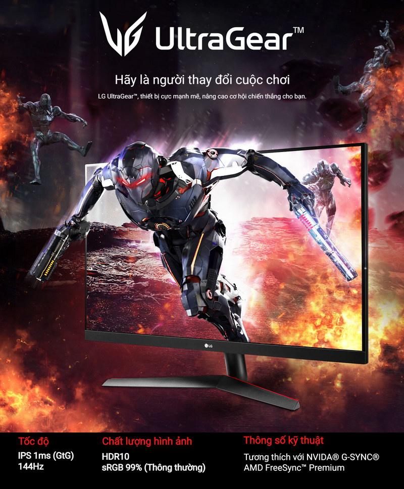 LG UltraGear 27GN600 B Gaming Monitor 1 1