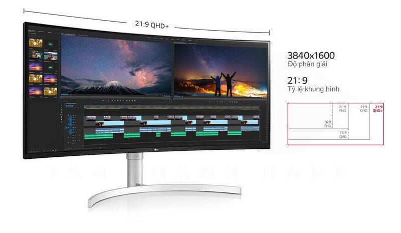 LG UltraWide 38WN95C W Curved Monitor Details 2