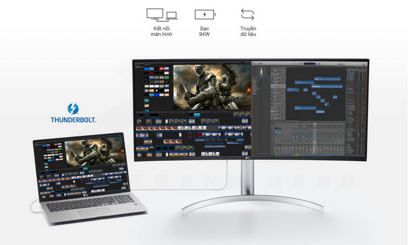 LG UltraWide 38WN95C W Curved Monitor Details 6