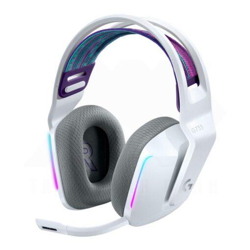Logitech G733 LIGHTSPEED Wireless RGB Gaming Headset White 1