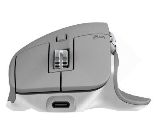 Logitech MX Master 3 Mid Grey Mouse 5