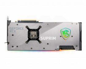 MSI Geforce RTX 3080 SUPRIM X 10G Graphics Card 3