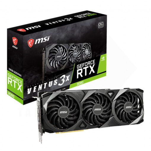 MSI Geforce RTX 3080 VENTUS 3X 10G OC Graphics Card 1