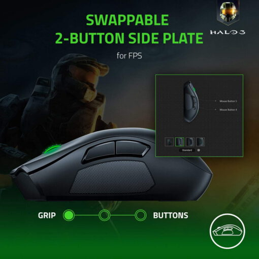 Razer Naga Pro Wireless Gaming Mouse 5