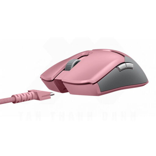 Razer Viper Ultimate Gaming Mouse – Quartz Pink 3