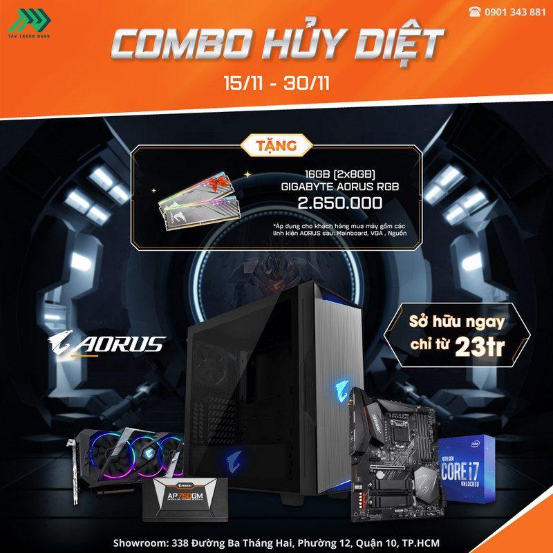 TTD Promotion 202011donghanhcungcomboaoruspc