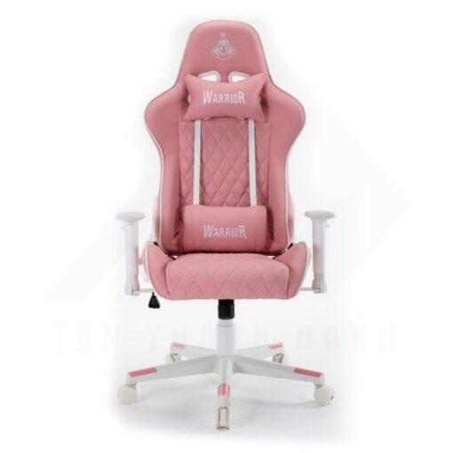 Warrior Raider Series WGC206 Gaming Chair – White Pink 1