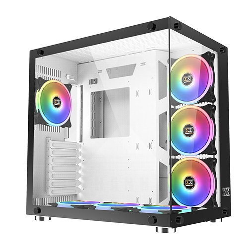 XIGMATEK Aquarius Plus Case – White 1