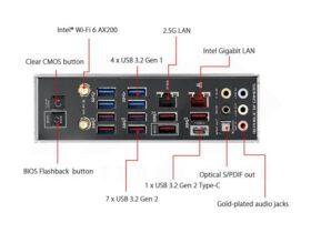 ASUS ROG Crosshair VIII Dark Hero Mainboard X570 Chipset 5