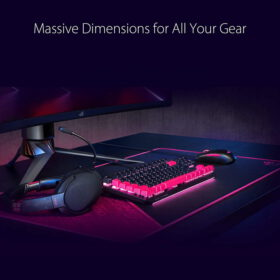ASUS ROG Sheath Electro Punk Extended Mouse Pad 3
