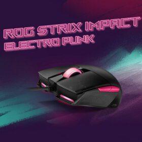 ASUS ROG Strix Impact II Electro Punk Gaming Mouse 2