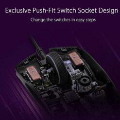 ASUS ROG Strix Impact II Electro Punk Gaming Mouse 5
