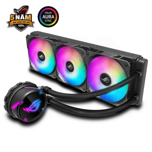 ASUS ROG Strix LC 360 RGB Liquid Cooler – Black Edition 1
