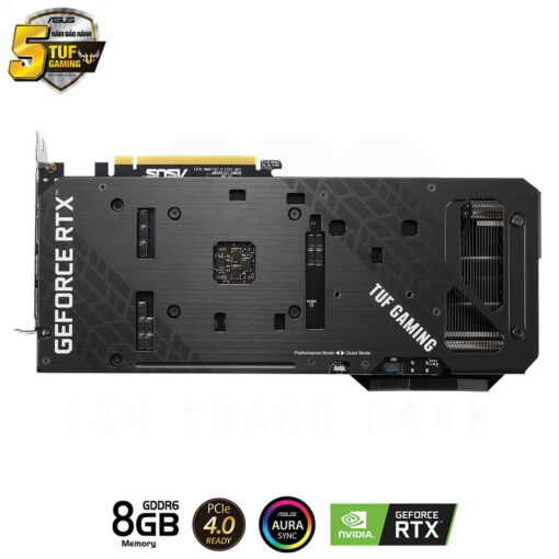 ASUS TUF Gaming Geforce RTX 3060 Ti OC Edition 8G Graphics Card 3