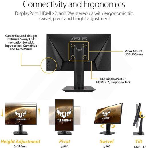 ASUS TUF Gaming VG259Q Monitor 6