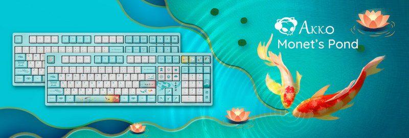 Akko Monets Pond 3108v2 Keyboard 4
