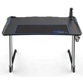 DXRacer NEX Computer Gaming Desk – Black Blue 5
