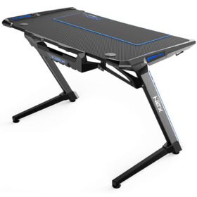 DXRacer NEX Computer Gaming Desk – Black Blue 6