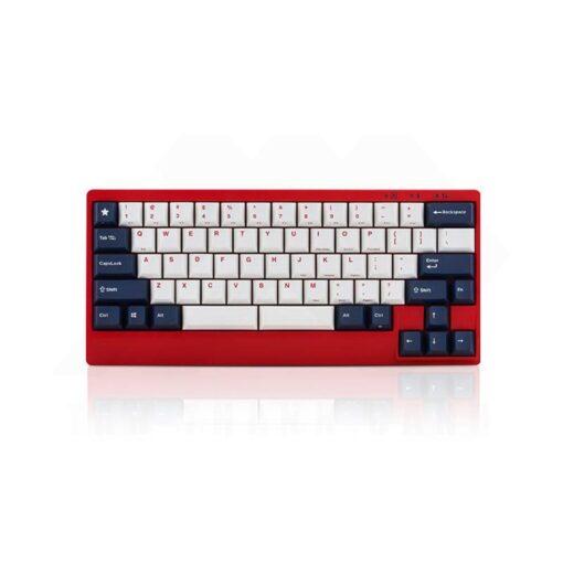 Leopold FC650MDS PD White Blue Star Keyboard 1